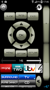 TXNR for Onkyo AV+BD+TV Remote