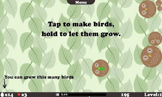 Screenshot of Chirp Chirp Free