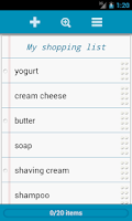 Screenshot of Grocery List - Quick Grocery