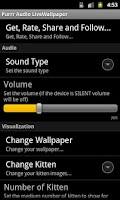 Screenshot of Purrr Audio LiveWallpaper LITE