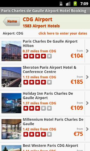 Hotels Near Paris Airport