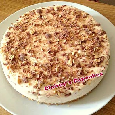 Maltesers/Whoppers Cheesecake