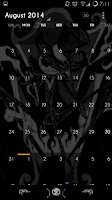 Screenshot of YGX-Nightmare CM11 Theme