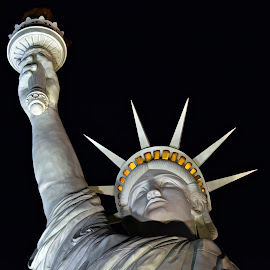 Liberty Torch by Steven Aicinena - Buildings & Architecture Statues & Monuments