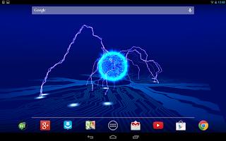 Screenshot of Reactor Live Wallpaper