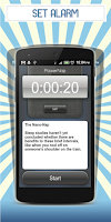 Screenshot of Power Nap Alarm