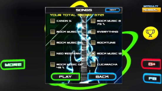 Download Rock vs Guitar Legends 2017 HD APK for Android Kitkat