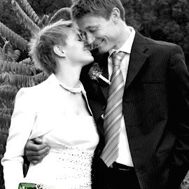 by Sergeja Photography - Wedding Bride & Groom