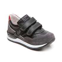 GF Ferre Leather Velcro Trainer SHOE