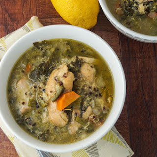 Chicken Quinoa Soup with Kale