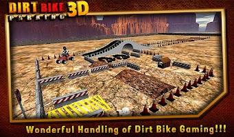 Screenshot of Dirt Bike Parking 3D ★Fun 2014