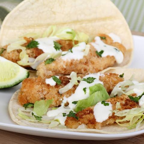 10 best breaded fish tacos recipes yummly for Breaded fish tacos