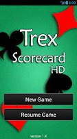 Screenshot of Trex Scorecard HD