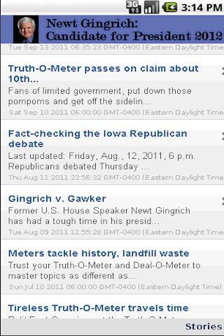 玩新聞App 2012 Candidate: Newt Gingrich免費 APP試玩
