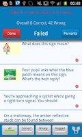 Screenshot of ADI Theory Test