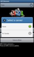 Screenshot of Kroma MPC Remote