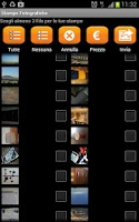 Screenshot of PhotoCity.it per Android