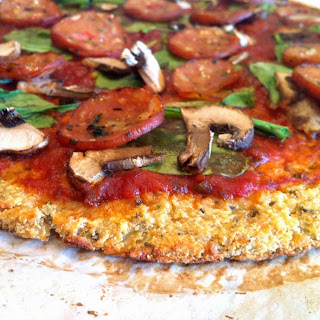 Cauliflower Pizza Crust (Paleo)