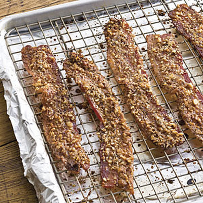 Pecan Sugared Bacon