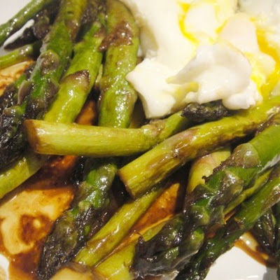 Asparagus with Butter and Soy