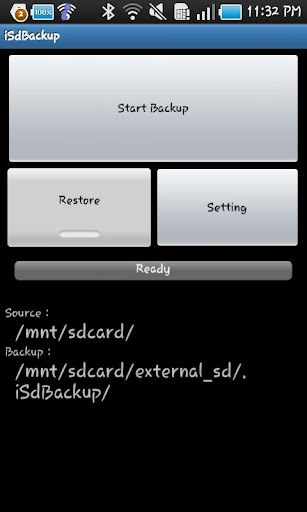 iSdBackup for Galaxy Optimus2X