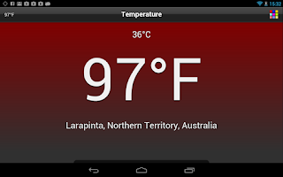 Screenshot of Temperature Free