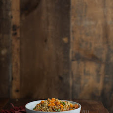 Roasted Chipotle Sweet Potato and Sorghum Salad