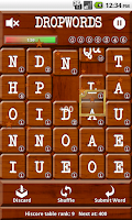 Screenshot of Dropwords