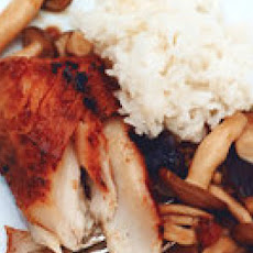 Miso Cod with Buttered Mushrooms