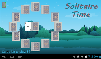 Screenshot of Solitaire Time FREE