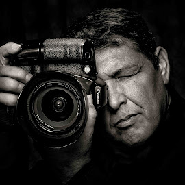 by Ron Comstock - People Professional People ( Selfie, self shot, portrait, self portrait )