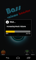 Screenshot of volume booster