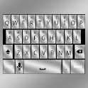 Silver Keyboard Skin icon