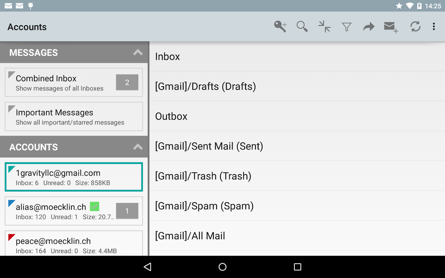 K-@ Mail Pro - Email App Screenshot 11