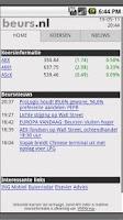 Screenshot of Beurs.nl