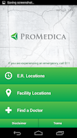 Screenshot of ProMedica