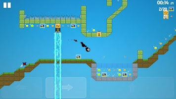Screenshot of 14px | Ultimate platformer