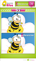 Screenshot of Juego Educativo: 5 Diferencias