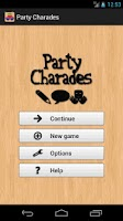 Screenshot of Party Charades