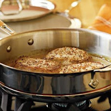 Pork Cutlets with Mustard Sauce