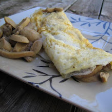 Mushroom Omelette for One