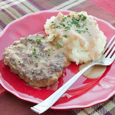 Creamy Salisbury Steak