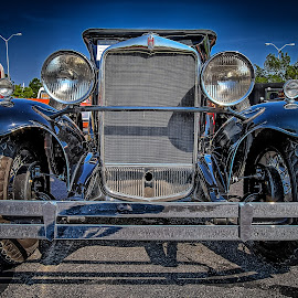 IH Grill Shot by Ron Meyers - Transportation Automobiles