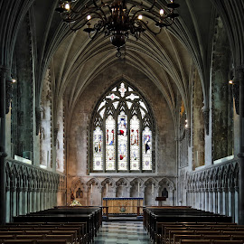 The Lady Chapel at St Albans Cathedral - Interior by Almas Bavcic - Buildings & Architecture Places of Worship