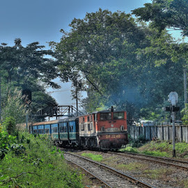 Railway station by Ko Thi La - Landscapes Deserts ( landscape )