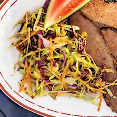 Molasses-Cider Coleslaw