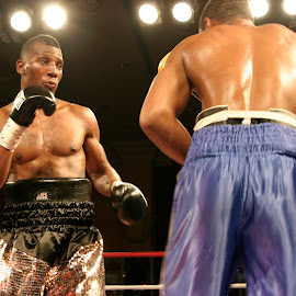 Caleb Caldwell fighting in Las Vegas by Stephen Jones - Sports & Fitness Boxing