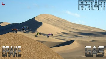 Screenshot of Baja Trophy Truck Racing