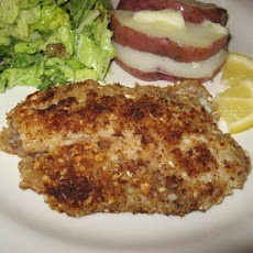 Tilapia With Almond Crust