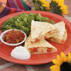 Apple Chicken Quesadillas Recipe